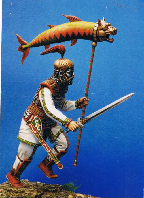 ByzantineDragon 90mm of the company SOMOV which cheased like AQUILA