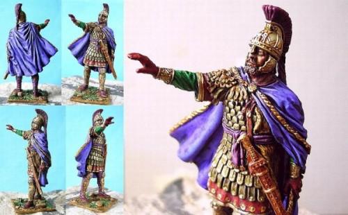Heracleios, Emperor of Byzantium, 7th century a.D.SolderArt.54mm