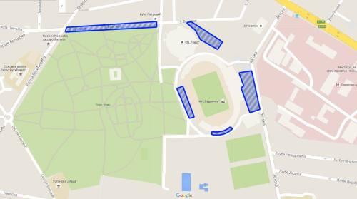 free parking zones
