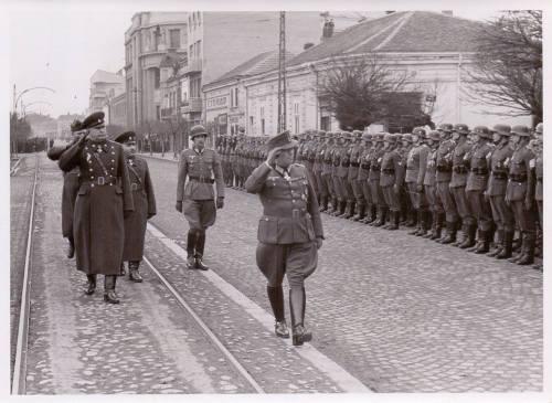 12.03.1944. година, немачко-бугарска војна парада у улици Вожда Карађорђа