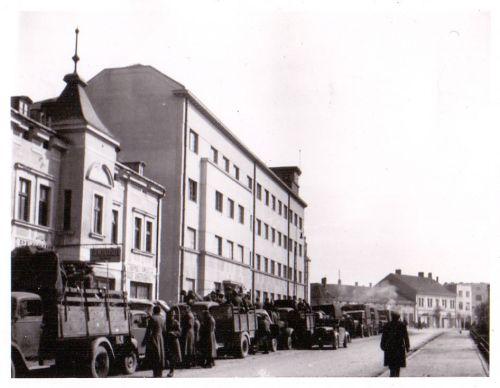 1941. година, немачка војна колона код Команде Армије