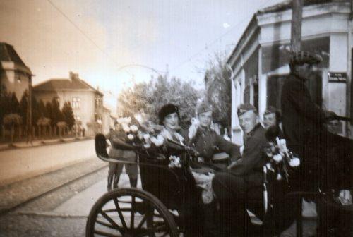 Други светски рат, угао Улице Вожда Карађорђа и данашње Улице Првомајске