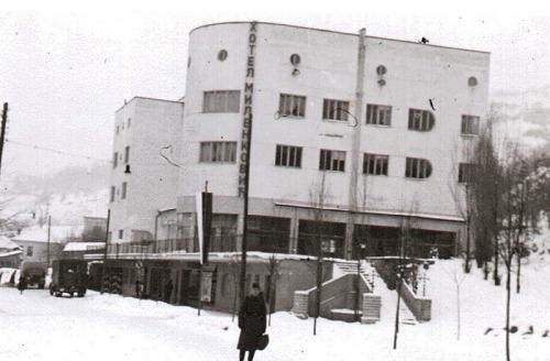 Други светски рат, хотел Миленковић касније хотел Партизан у Нишкој бањи
